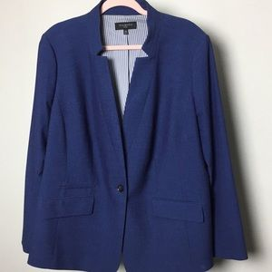 Talbots notch collar blazer